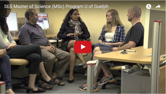YouTube Video - SES Master of Science (MSc) Program U of Guelph