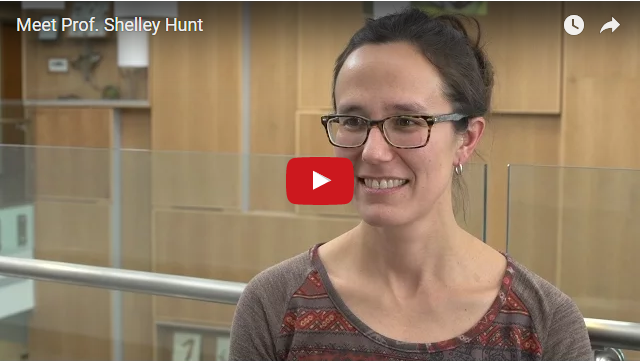 YouTube Video - Meet Professor Shelley Hunt